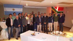 Equipo argentino en Sudáfrica